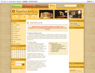 slamenejurty.cz screenshot