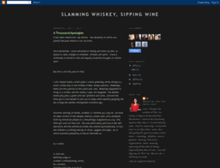 slammingwhiskeysippingwine.blogspot.com screenshot