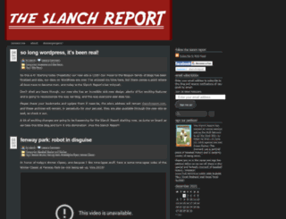 slanchreport.wordpress.com screenshot