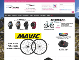 slanecycles.com screenshot