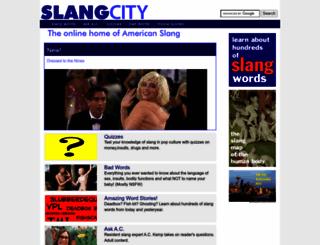 slangcity.com screenshot