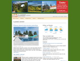 slanske-noviny.cz screenshot