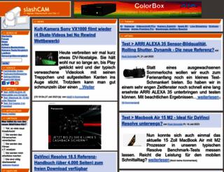 slashcam.de screenshot