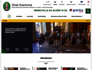 slaski.strazgraniczna.pl screenshot