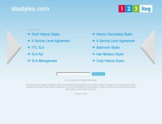 slastyles.com screenshot