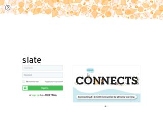 slate.origoeducation.com screenshot