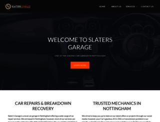 slatersgarage.co.uk screenshot