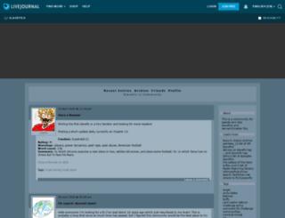 slavefics.livejournal.com screenshot