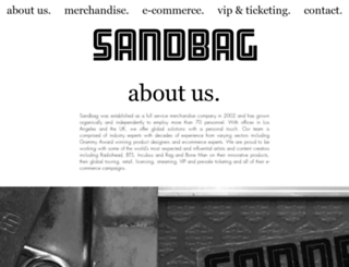slaves.sandbaghq.com screenshot