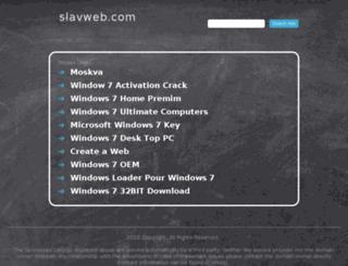 slavweb.com screenshot