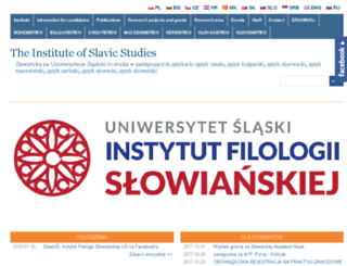 slaw.us.edu.pl screenshot