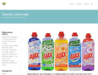 slawekludwiczak.pl screenshot