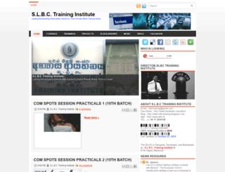 slbctraining.blogspot.fr screenshot