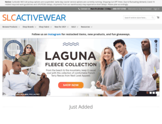 slcactivewear.com screenshot