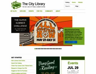 slcpl.org screenshot