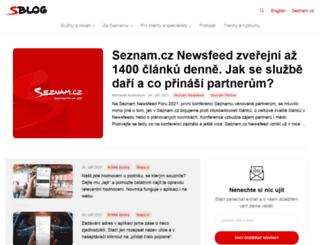 slecnakejsy.sblog.cz screenshot