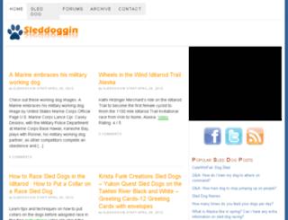 sleddoggin.com screenshot