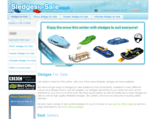 sledgesforsale.org.uk screenshot
