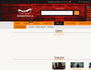sledujutrailery.cz screenshot