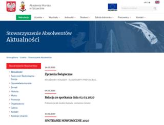 sledziolapy.am.szczecin.pl screenshot