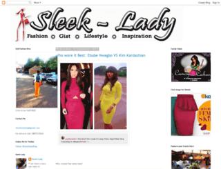 sleek-lady.blogspot.com screenshot