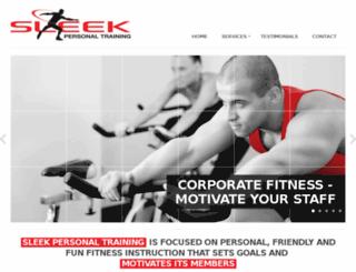 sleekpersonaltraining.com.au screenshot