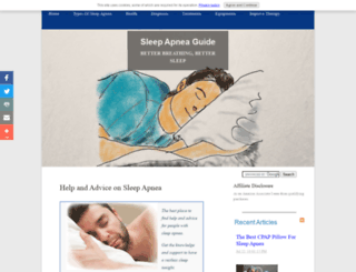sleep-apnea-guide.com screenshot