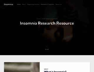 sleep-deprivation-cd.com screenshot