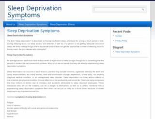 sleep-deprivation-symptoms.org screenshot