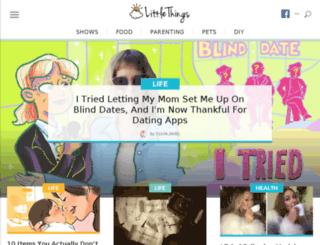 sleep-position.littlethings.com screenshot