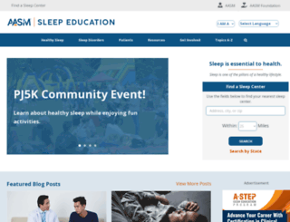 sleepeducation.com screenshot