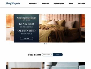 sleepexperts.com screenshot