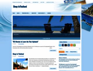 sleepinthailand.blogspot.com screenshot