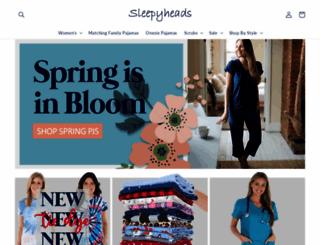 sleepyheads.com screenshot