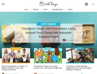 sleeves.littlethings.com screenshot