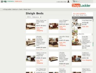 sleighbedstore.com screenshot