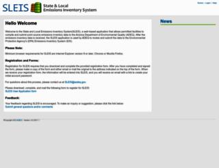 sleis.azdeq.gov screenshot