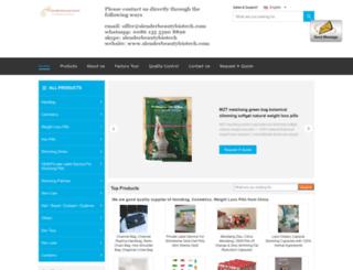 slenderbeautybiotech.com screenshot