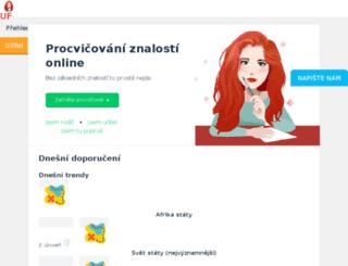 slepemapy.cz screenshot
