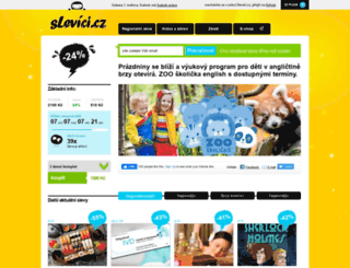 slevici.cz screenshot