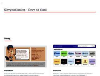 slevynadlani.cz screenshot
