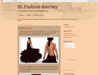 slfashionjourney.blogspot.com screenshot