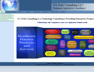 slfritzconsulting.com screenshot