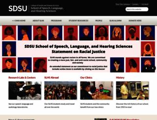 slhs.sdsu.edu screenshot