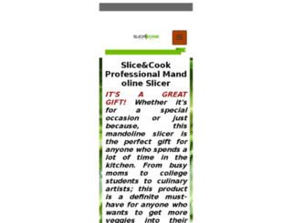 sliceandcook.com screenshot