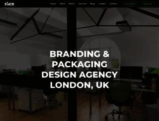slicedesign.co.uk screenshot