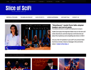 sliceofscifi.com screenshot