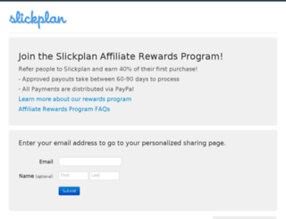 slickplan.referralcandy.com screenshot