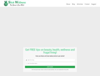 slickwellness.com screenshot