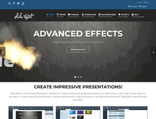 slide-effect.com screenshot